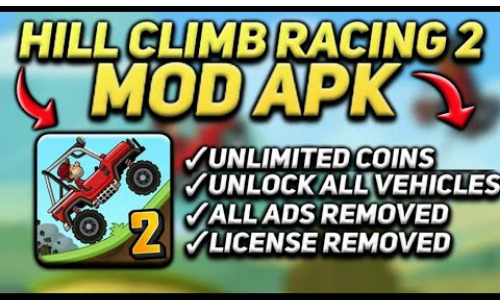 hill climb racing 2 hack version all features unlocked