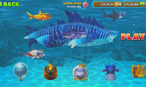 hungry shark evolution mod apk unlimited resources