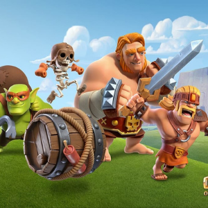 unlocked troops of clash of clans game