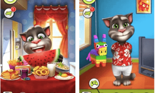 features of my talking tom apk