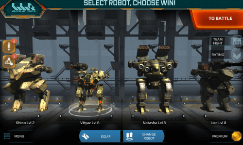 war robots mod apk download