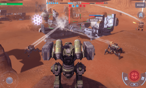 war robots mod apk latest version