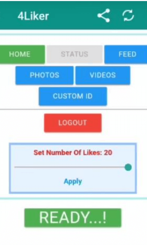 4liker app for android