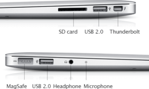 technical features of MacBook Pro13-inch latest