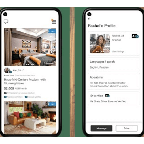 roommate finder apk for android