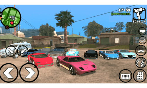 GTA San Andreas Mod apk for android
